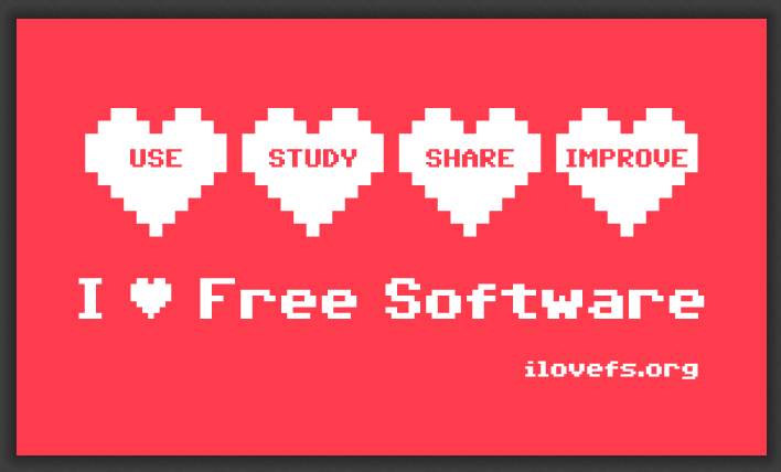 I ♥ Free Software